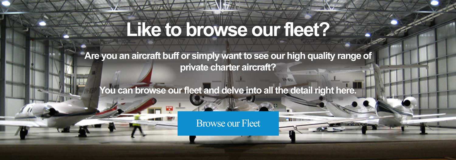 Browse our fleet available for private aircraft charter