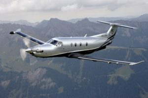Pilatus-PC-12-In-Flight